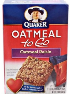 Oatmeal Bars to Go