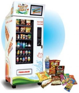 healthy fresh snack machines in Ontario
